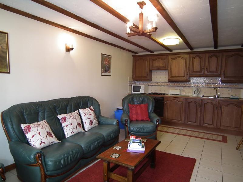 Saddlers Cottage Lounge e zona cucina