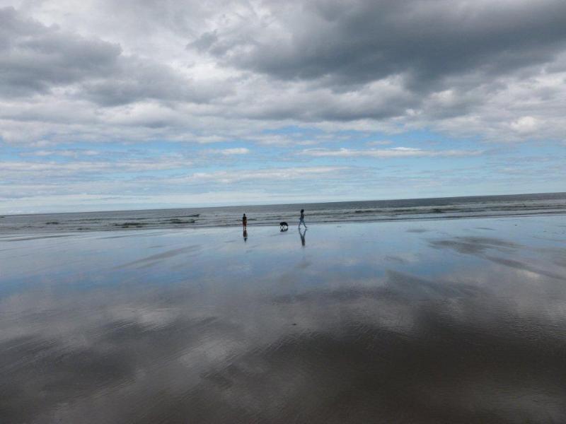 Sandend apenas 3miles fora, ótimo para passeios de cachorro e um dia de praia.