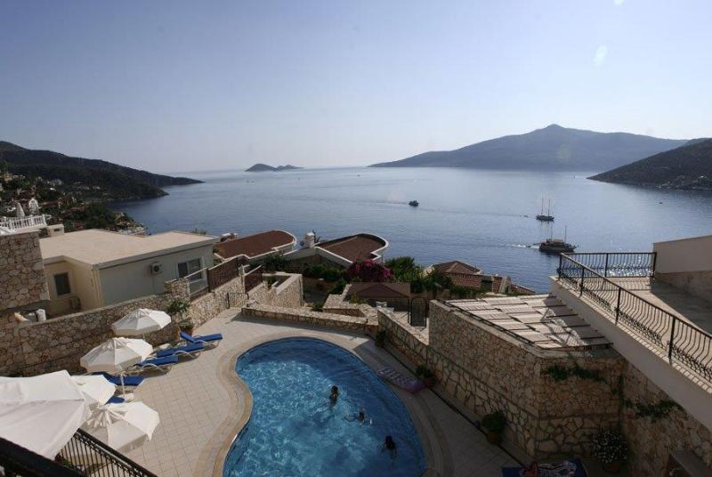 Enjoy panoramic stunning views of the beautiful Mediterranean Sea from the lounge and balcony