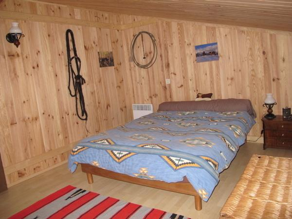 Chambre 'Western',ambiance country