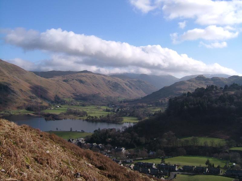 View of Glenridding from Glenridding Dodd