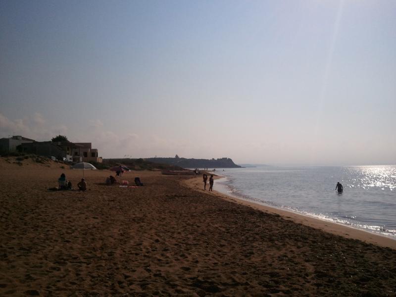 la spiaggia ..