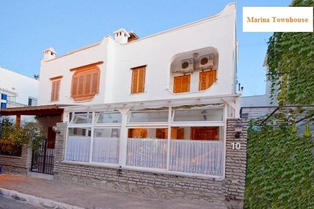 The house in perfect location in the middle of Turgutreis, near to beach