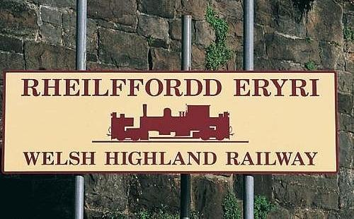 For a more relaxing day out, travel along the Welsh Highland Railway