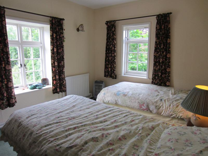 Our twin bedded room which has all the same facilities of our main double bedded room