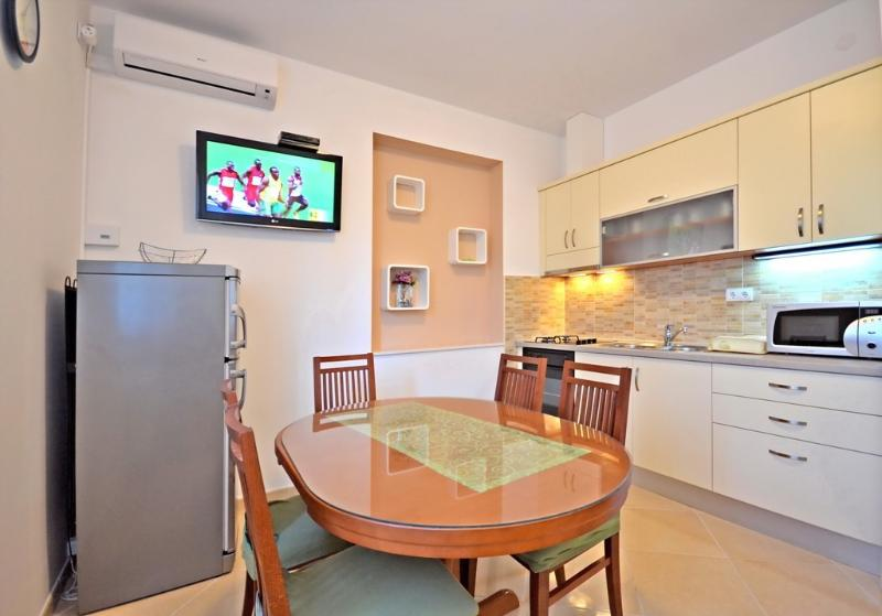 Kitchen with dinning room of AP 4 East