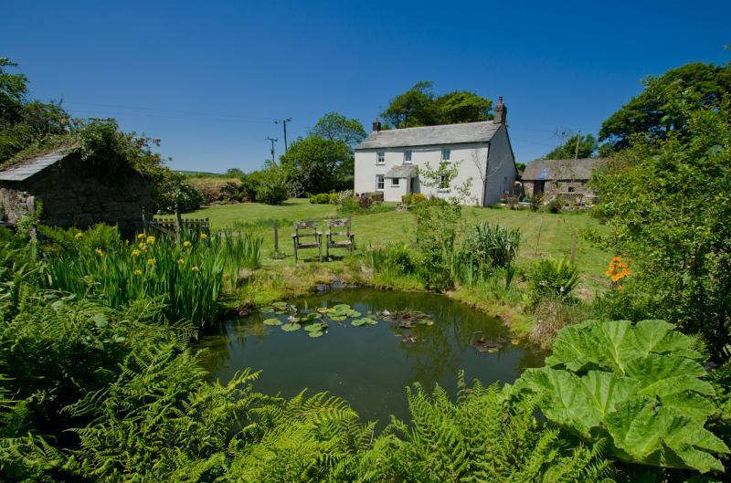 Fish Pond to Farmhouse