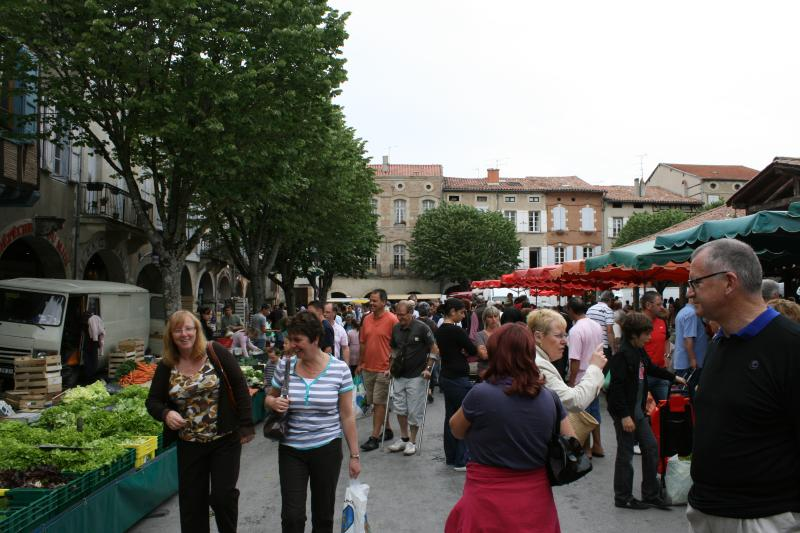 Colourful local markets are held in many nearby towns as well as Carcassonne (3 times a week)