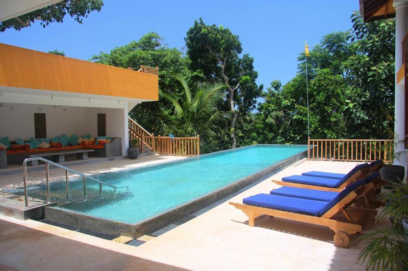 Pool area...