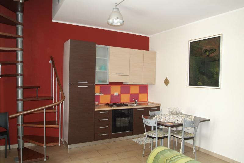 1. Sweet Home in Catania; contemporary style kitchen.