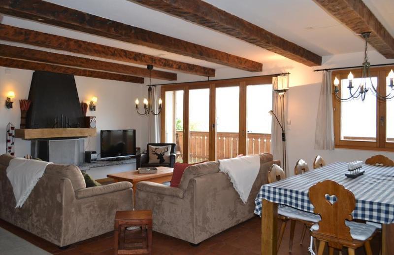 Valhalla Rez- myverbier, vacation rental in Bagnes