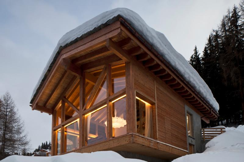 Chalet Janluke nella neve