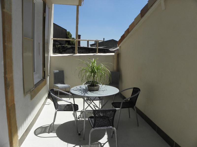 Terrasse-Solarium, très ensoleillée