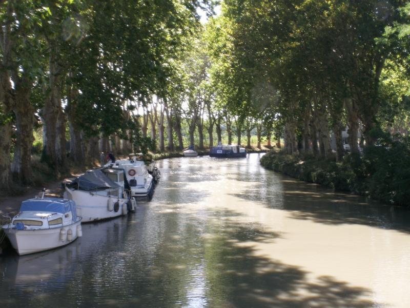 Canal du Midi, Capestang