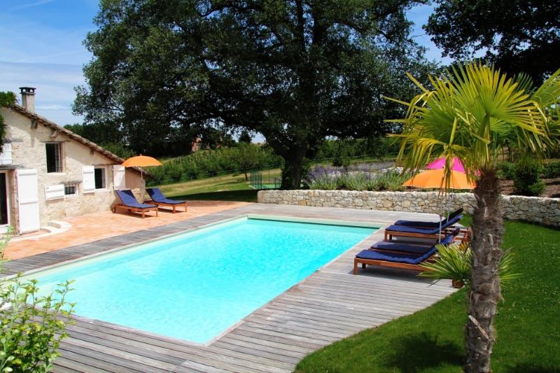 Lavayssiere - Luxury Manoir: 2 pools an indoor pool & jacuzzi, outdoor pool, private tennis &amp