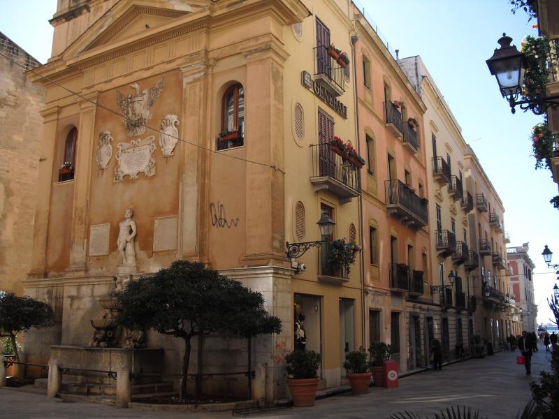 appartamento visto da Via Torrearsa