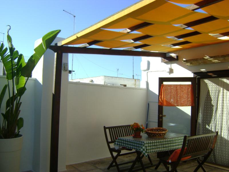 Wonderful private terrace