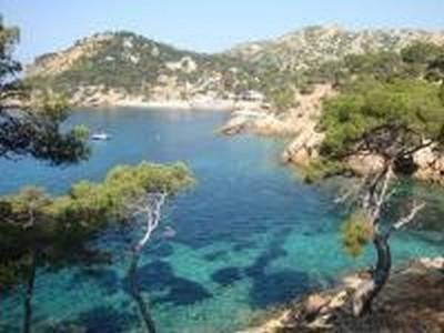 Creek for bathing in Cassis