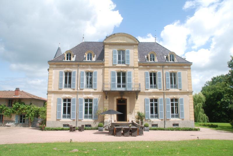 Chateau Les Bardons with pool, holiday rental in Saint Bonnet des Quarts