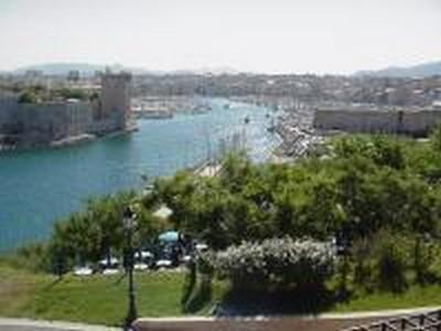 The entrance to the old port in Marseille