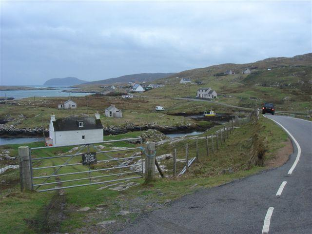 Harbour Cottage from the road