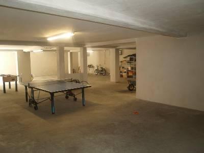 garage, games room