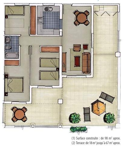 Property lay out