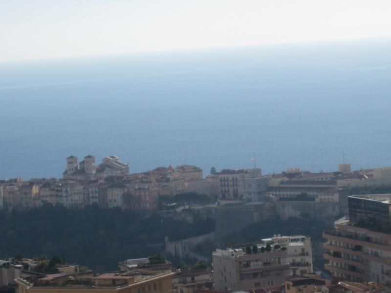 View of Monaco from apartment