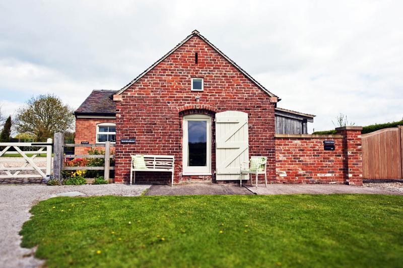 Door from living room with fabulous rural views