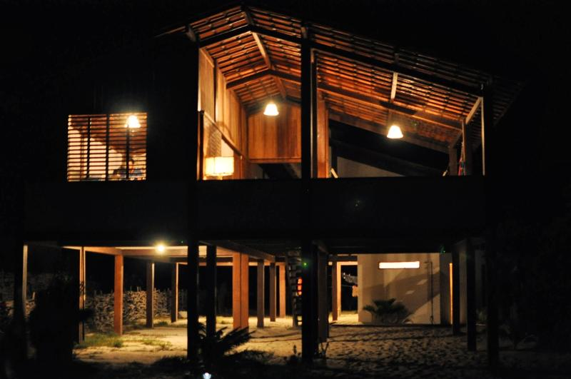 Casa Estrela Do Mar at night ...Visit our site for more pictures and details
