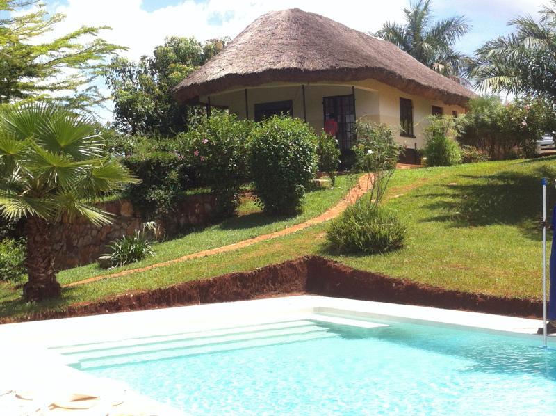 Enjoy the 12x5 meter swimming pool
