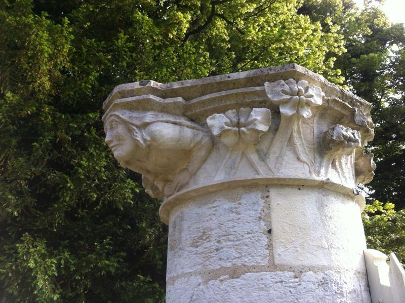 détail de l'Abbaye de Jummièges