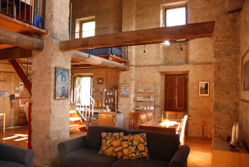 A stunning conversion of the old barn which even surprised the builders