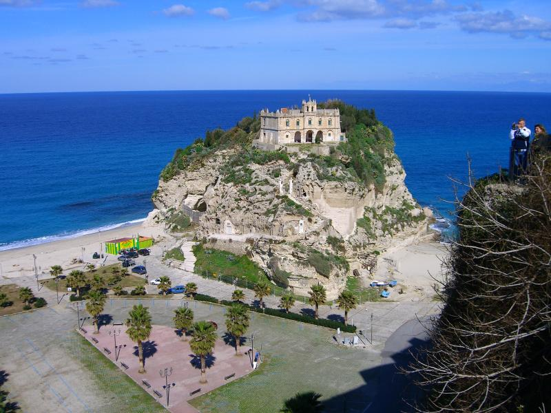 One of the beautiful views from Tropea