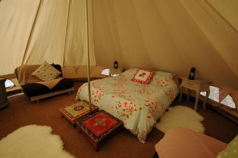 Glamorous camping!