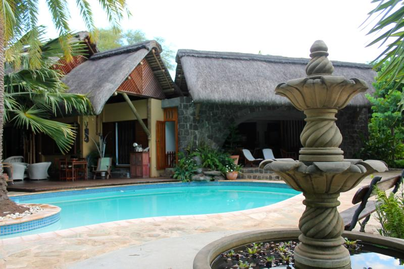 Villa Cazalines Pool & Fountain 'piscine et fontaine'