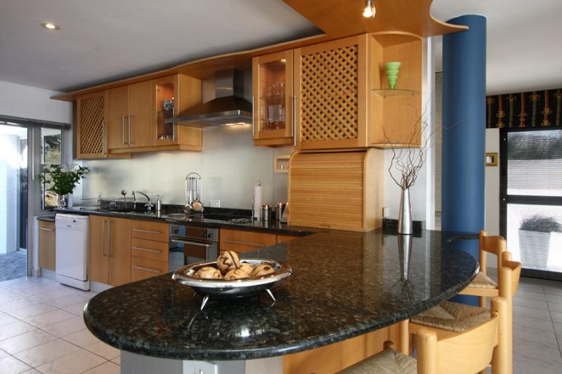 Granite topped Kitchen area