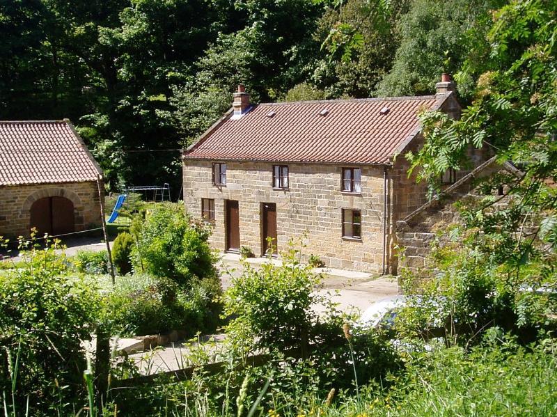 cottage Raisdale Mill Cottages Beck à esquerda