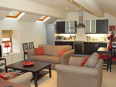 Open planned lounge, kitchen and diner