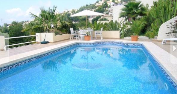 Costa Blanca, Altea La Vella, pool golf sea beach dishwasher satellite TV