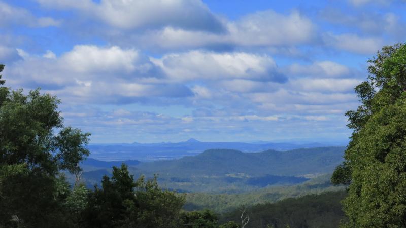 View from Ravensbourne Escape, Queensland, Australia