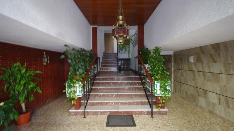 Entrance hall to the apartment building