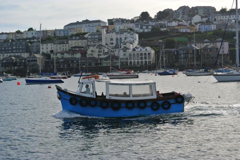 The Flushing Ferry runs every 30 mins to Falmouth