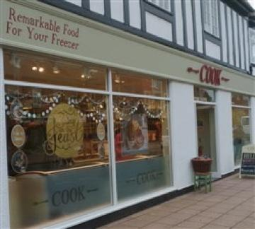 Home cooked nutritious food straight from the freezer - Cooks Wilmslow 50 yards from the apartment