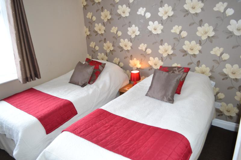 twin or double rooms with hospitality trays