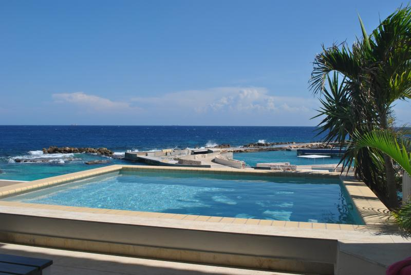 Condor villa has three spacious terraces and private plunge pool!