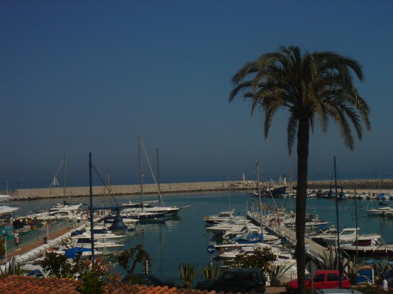 The old town of Estepona.