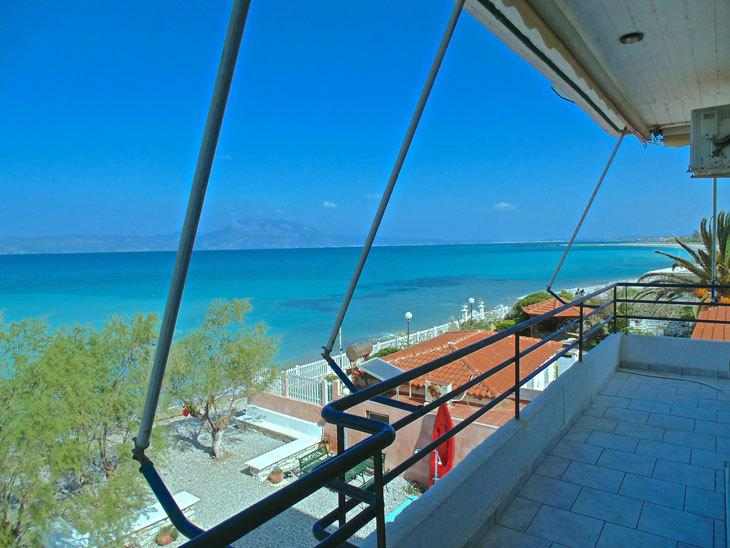 VRACHATI BEACH SUITES for 4 pe, holiday rental in Galatas