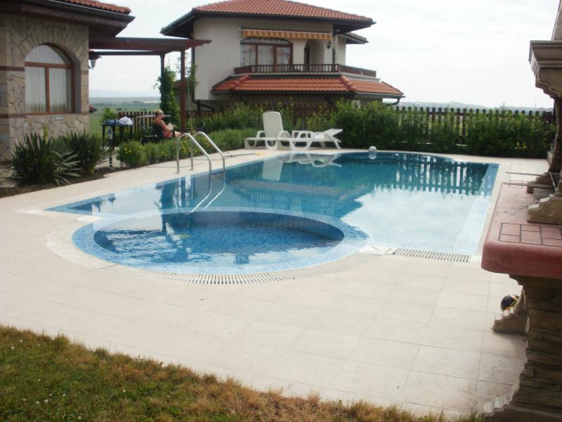 Private 50 square meter pool
