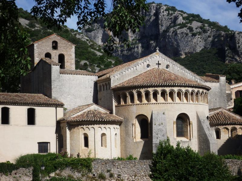UNESCO World Heritage Abbay of Saint Guilhem-le-Désert